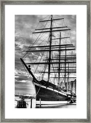 Penn Landing Framed Print by JC Findley