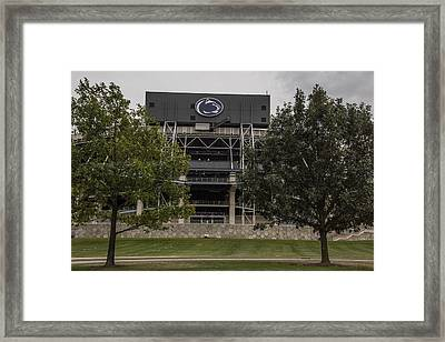 Penn State Beaver Stadium  Framed Print by John McGraw