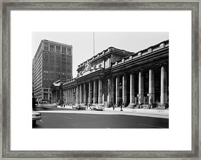 Pennsylvania Station, Exterior, New Framed Print
