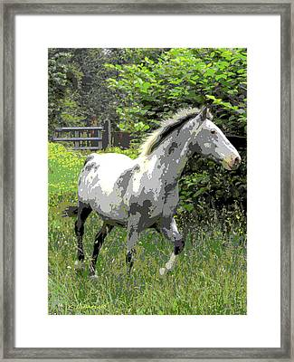 Pepper Framed Print by Kerri Ligatich