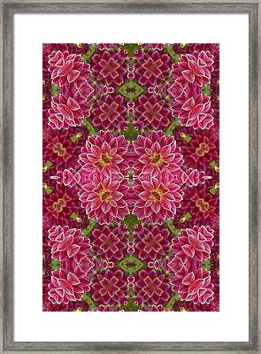 Perennial Garden Art Framed Print