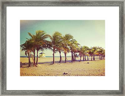 Perfect Beach Day Framed Print by JAMART Photography