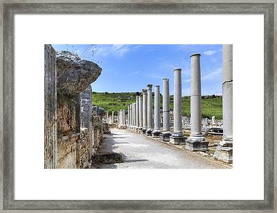 Perge - Turkey Framed Print