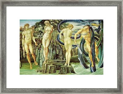 Perseus And Andromeda  Framed Print by Edward Burne-Jones