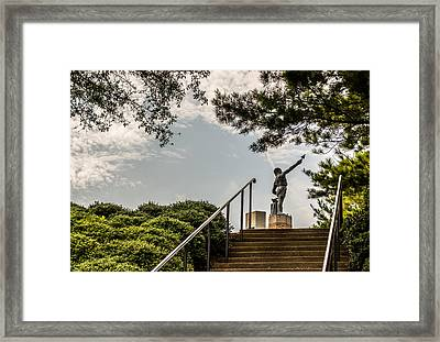 Vulcan - Unique Perspective Framed Print by Parker Cunningham