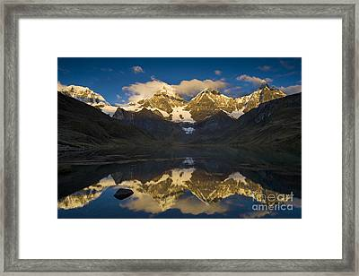 Peruvian Andes Framed Print