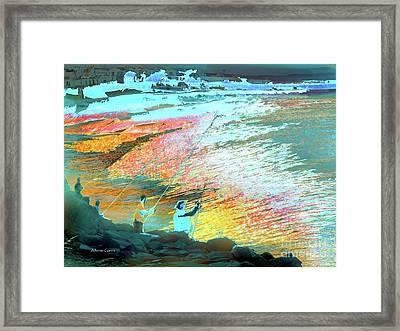 Pesca En Moral Framed Print by Alfonso Garcia