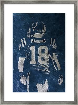 Peyton Manning Colts 2 Framed Print