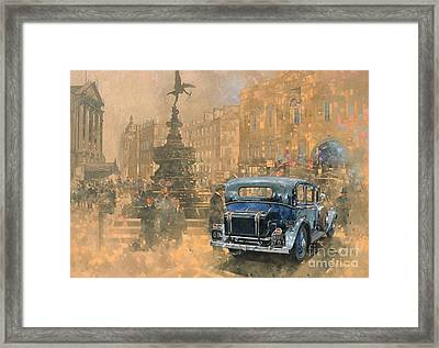 Phantom In Piccadilly  Framed Print