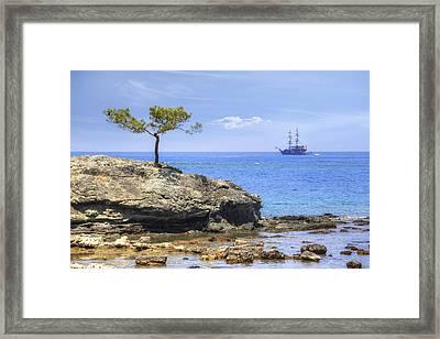 Phaselis - Turkey Framed Print by Joana Kruse