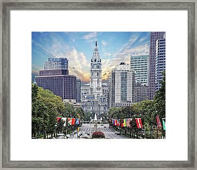 Philadelphia City Hall 2 Framed Print by Jack Paolini