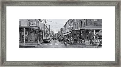 Philadelphia Italian Market 2 Framed Print