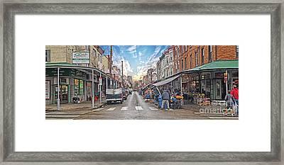 Philadelphia Italian Market 4 Framed Print by Jack Paolini