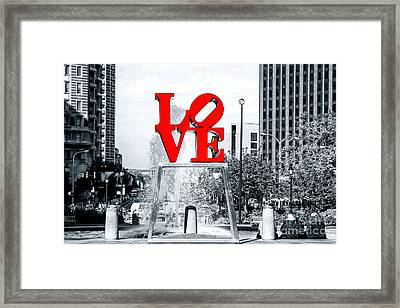 Philadelphia Love 2005 Framed Print