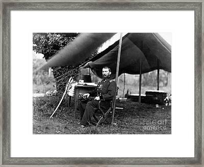 Philip Sheridan, American Army Officer Framed Print