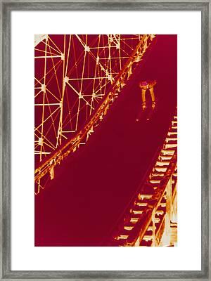 Photographic Cross-processing Creates Framed Print