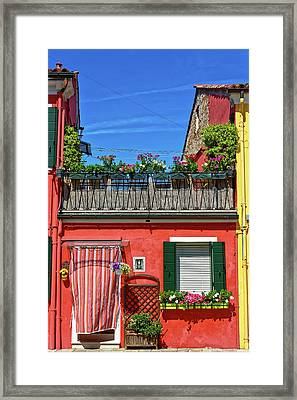 Do Not Forget To Water The Plants Framed Print