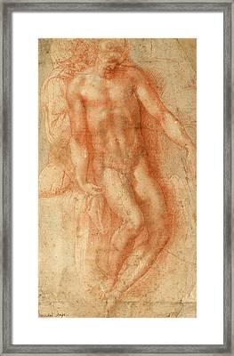 Pieta Framed Print by Michelangelo Buonarroti
