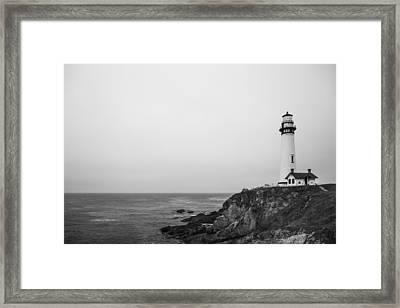 Pigeon Point Lighthouse Framed Print by Ralf Kaiser