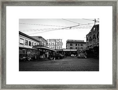 Pike Place Market Framed Print by Tanya Harrison