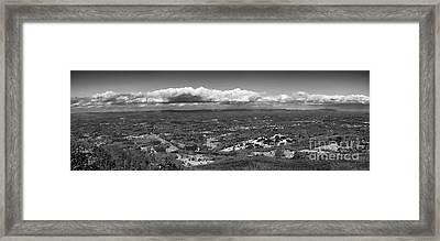 Pilots View Framed Print by Patrick M Lynch
