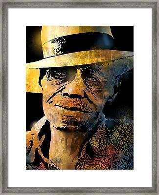 Pinetop Perkins Framed Print by Paul Sachtleben