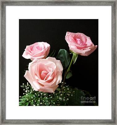 Pink Elegance Framed Print