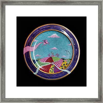 Pink Horse. Framed Print by Vladimir Shipelyov