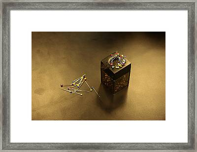 Pins Framed Print by Adam Sworszt
