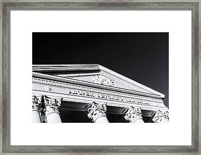 Pioneers Palace Ufa Russia Building Framed Print