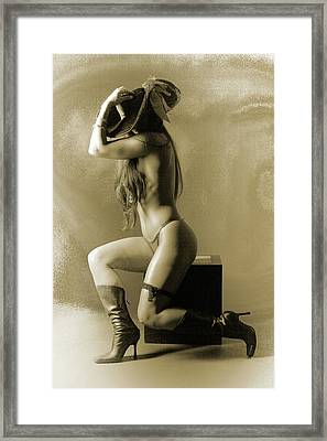 Pirate Girl Framed Print by Naman Imagery