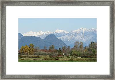 Pitt Meadows Framed Print