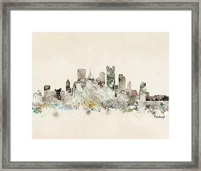 Pittsburgh Pennsylvania Framed Print