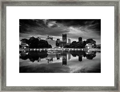Pittsburgh  Reflections  Framed Print by Emmanuel Panagiotakis