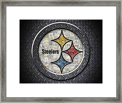 Pittsburgh Steelers Framed Print by Fairchild Art Studio