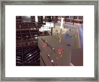 Place Framed Print