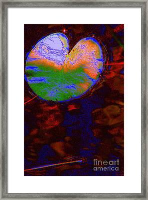 Placid Framed Print by Priscilla Richardson