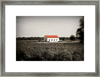 Plantation Church Framed Print by Scott Pellegrin