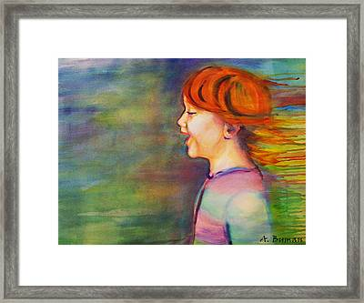 Play Days Framed Print