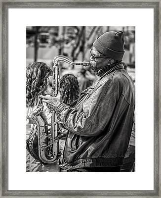 Player Framed Print by James Bull