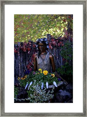 Framed Print featuring the photograph Plenty by Kenneth Campbell