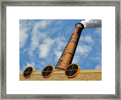 Plume And Doom Framed Print by Paul Wear