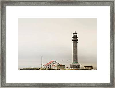 Point Arena Lighthouse Ca Framed Print