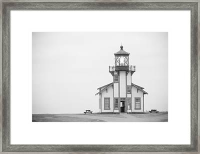Point Cabrillo Lighthouse Framed Print by Ralf Kaiser
