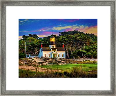Point Pinos Lighthouse Framed Print
