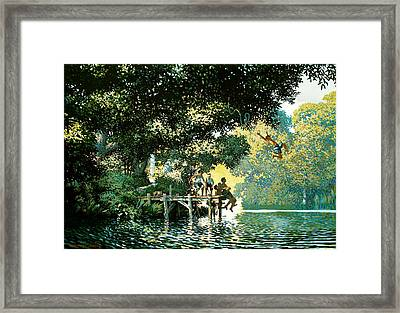 Pointe Pleasant Framed Print by Kevin Lawrence Leveque