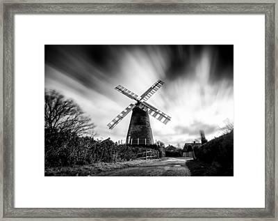 Polegate Windmill Framed Print