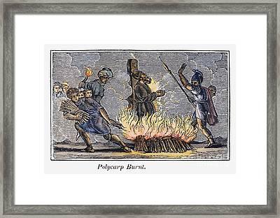 Polycarp Of Smyrna Framed Print