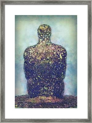 Ponder Framed Print by Jack Zulli