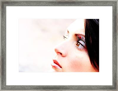 Ponder Tomorrow Framed Print